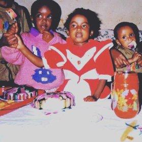 Triple Birthday in Kenya