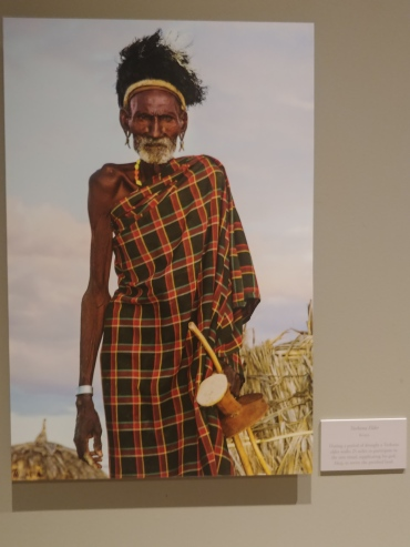 Turkana Elder Kenya Bowers Museum
