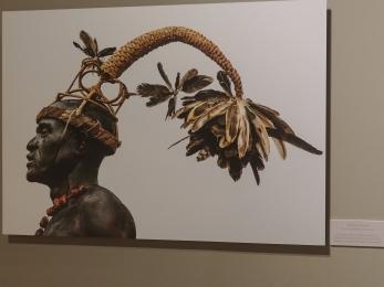 Salampasu warrior DRC Bowers Museum